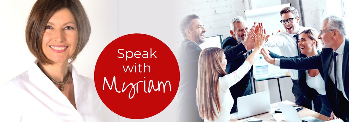 Speak with Myriam Callegarin